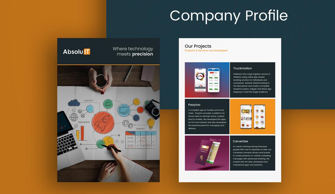 How to Make Company Profile Sample – Free template (PDF & PSD)