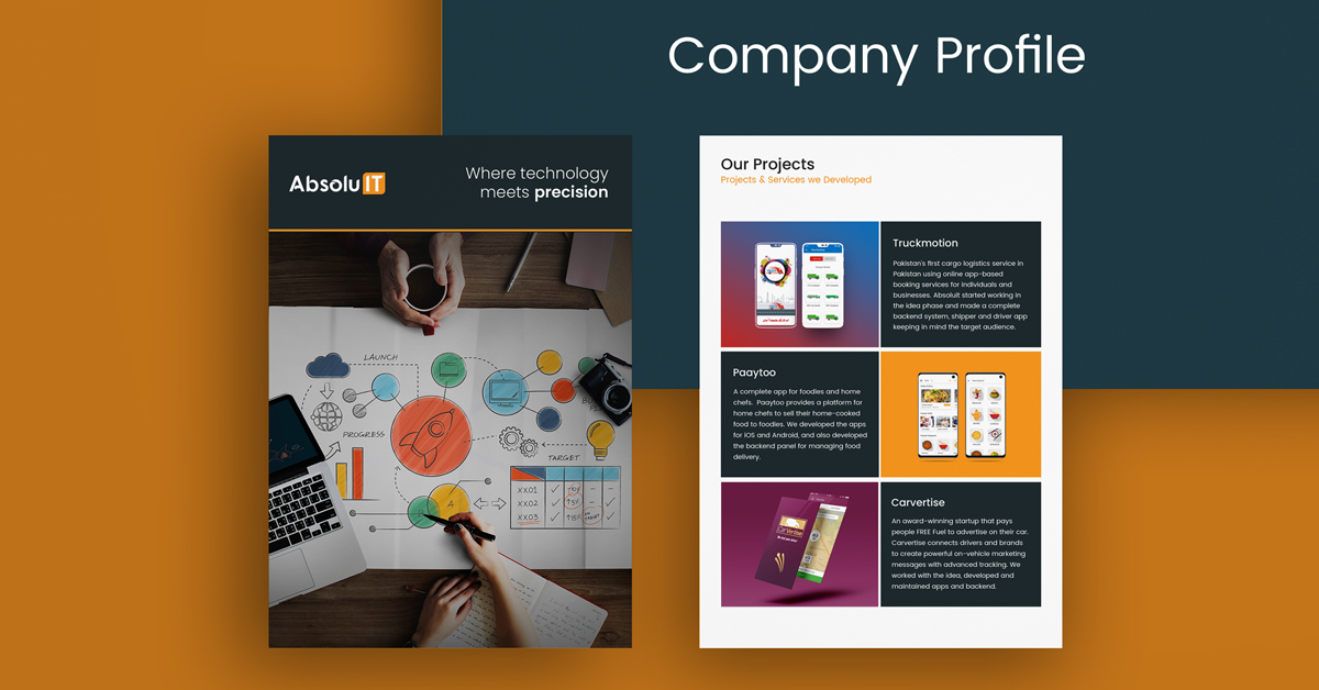 how to make company profile sample